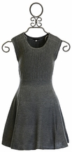 Ella Moss Sweater Dress for Girls in Gray (7/8,10,12)