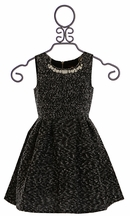 Ella Moss Tween Dress with Jewelled Neck (Size 10)