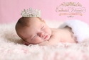 Enchanted Shimmer Aurora Newborn Crown