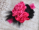 Fancy Girls Headband Matching Giggle Moon Happy and Joyful