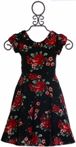 Five Loaves Two Fish Floral Dress for Tween (Size 7)