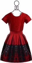 Five Loaves Two Fish Tween Holiday Skirt Set (8,10,14)