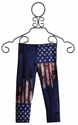 Flowers By Zoe American Flag Capri for Girls