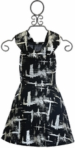 Flowers by Zoe Black and Silver Dress for Tweens