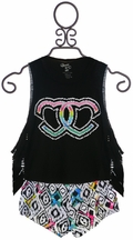 Flowers by Zoe Designer Tank Top with Shorts