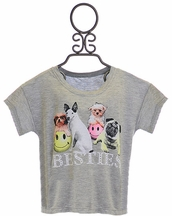 Flowers by Zoe Dog Besties Shirt