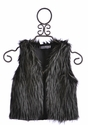 Flowers by Zoe Fancy Girls Fur Vest