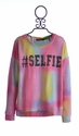 Flowers By Zoe Fashionable Tie Dye Sweatshirt Selfie