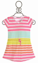 Flowers By Zoe Girls Stripe Dress