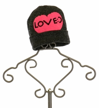 Flowers by Zoe Gray Stocking Cap for Tweens Love