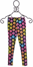 Flowers by Zoe Happy Emoji Leggings for Tweens (Size MD10)