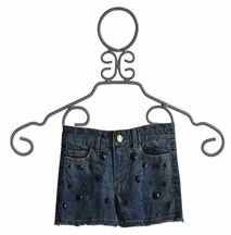 Flowers By Zoe Jean Shorts with Stone Accents