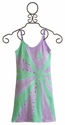 Flowers By Zoe Lavender and Mint Sunburst Tank Dress