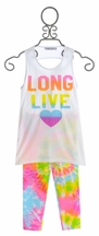 Flowers by Zoe Long Live Tank Top with Leggings