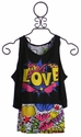 Flowers By Zoe Love Girls Summer Top (MD 10)