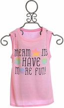 Flowers by Zoe Mermaids Have More Fun Top