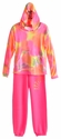 Flowers By Zoe Neon Tie Dye Tween Hoodie with Pink Sweatpant