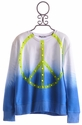 Flowers By Zoe Ombre Peace Tween Sweatshirt