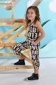 Flowers By Zoe Patterned Jumpsuit for Girls