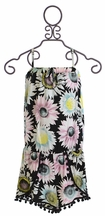 Flowers by Zoe Romper with Flower Print for Tweens (Size XL 12/14)