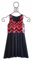 Flowers by Zoe Sequin Dress for Tweens (Size MD 10)