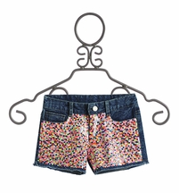Flowers by Zoe Sequin Shorts for Tweens (Size XL 12/14)