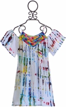 Flowers by Zoe Spring Dress Tie Dye