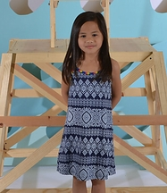 Flowers By Zoe Sundress for Tweens Neon Straps