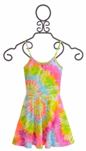 Flowers by Zoe Sundress in Tie Dye for Tweens (LG 10/12 & XL 12/14)