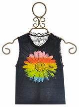 Flowers By Zoe Tank Top Neon Tie Dye Flower (5 & 6)