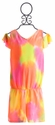 Flowers By Zoe Tie Dye Neon Tween Romper