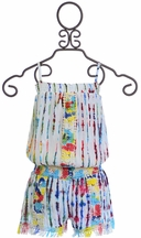 Flowers by Zoe Tie Dye Romper (MD10 & LG10/12)