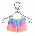 Flowers by Zoe Tie Dye Shorts for Tweens