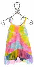 Flowers by Zoe Tie Dye Tank Top with Jean Shorts