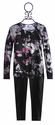Flowers By Zoe Trendy Tween Top and Leggings with Zippers (Size SM 7/8)