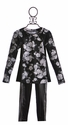 Flowers by Zoe Tween Back to School Outfit in Pleather (LG 10/12, XL 12/14)