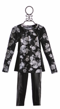 Flowers by Zoe Tween Back to School Outfit in Pleather (LG 10/12 & XL 12/14)