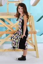 Flowers By Zoe Tween Colorblock Maxi Dress Made with Love