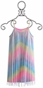 Flowers by Zoe Tween Dress Rainbow Fringe