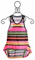 Flowers By Zoe Tween Girls Neon Striped Tunic