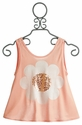 Flowers By Zoe Tween Girls Sequin Daisy Tank