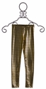 Flowers by Zoe Tween Houndstooth Leggings in Gold