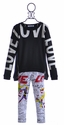 Flowers by Zoe Tween Love Sweatshirt with Comic Leggings