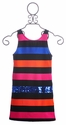 Flowers By Zoe Tween Party Dress Vibrant Stripes
