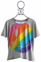 Flowers By Zoe Tween Rainbow Smiley Tee