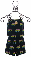 Flowers by Zoe Tween Romper Tribal Print (MD10,LG10/12,XL12/14)