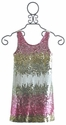 Flowers By Zoe Tween Sequin Ombre Dress