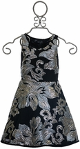 Flowers by Zoe Tween Silver Couture Dress