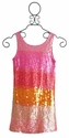 Flowers By Zoe Tween Sparkle Pink Sequin Party Dress