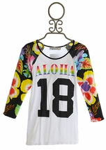 Flowers By Zoe Tween Top Aloha Hawaii (MD10 & XL12/14)